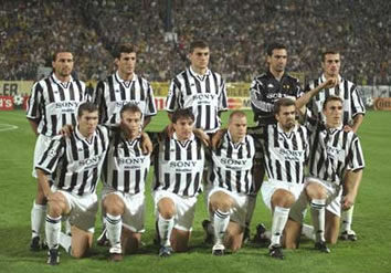 Juventus de Turín Champions 1996