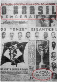 Final del Mundial Brasil 1950