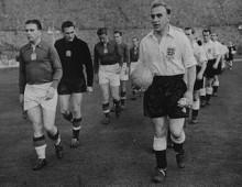 Selección de Hungría en el Estado de Wembley