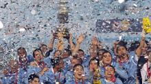 Uruguay gana la Copa América Argentina 2011