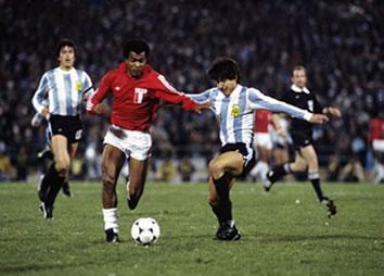 Cuartos de final Mundial 78: Argentina - Perú