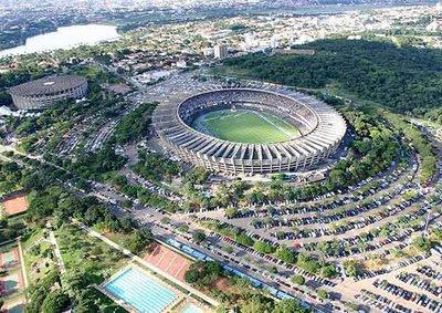 Estadio Belo Horizonte - Sede del Mundial Brasil 2014