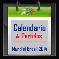 Calendario de partidos Copa del Mundo Brasil 2014