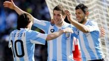 el tridente ofensivo de Argentina tiene la obligación de batir a los chilenos