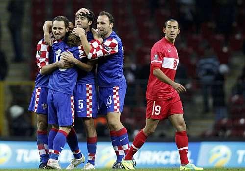 Los jugadores croatas celebran la toma de Estambul