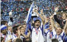 Grecia campeona de la Eurocopa Portugal 2004