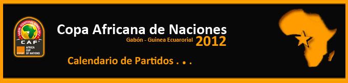 Calendario Copa Africana de Naciones 2012
