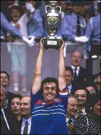 Platiní fue heroe en la Eurocopa de Francia de 1984