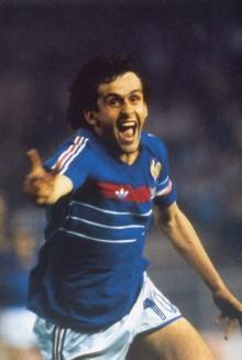 Platiní fue máximo goleador de la Eurocopa de Francia 1984