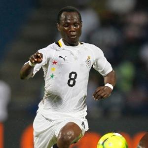 El jugador del Udinese Badu marcó uno de los goles de lo que llevamos de campeonato