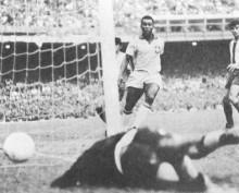 Pelé se convirtió en la revelación de Suecia 1958