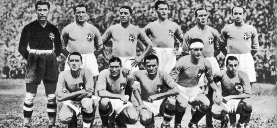 Seleccionado de Italia durante el Mundial de 1934