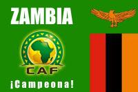 Selección de Zambia - Campeona Copa Africana 2012