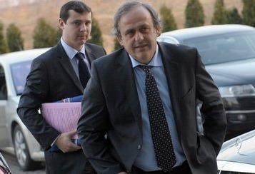 Platini llega a la Conferencia del Consejo de Europa de ministros de Deporte en Belgrado