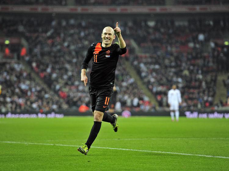 Arjen Robben conquista Wembley