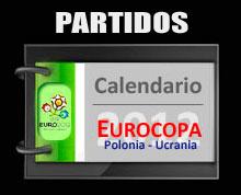 Calendario de Partidos Eurocopa 2012 - Mucho Mundial