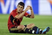 David Villa se perderá la Eurocopa