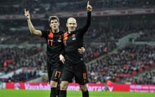 Holanda en su partido ante Inglaterra