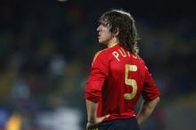 Carles Puyol se queda sin Eurocopa